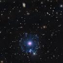 "Cat's Eye Nebula (8"" in 19.5 SQM sky),                                KuriousGeorge"