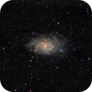 Messier 33,                                Luciano Milianti