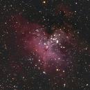 Eagle Nebula, Close Crop of the Pillars of Creation,                                doug0013