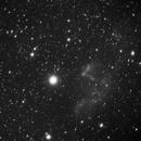 IC 63 (Ghost Nebula) , IC 59 in H-alpha, and Gamma Cassiopeia star,                                Nikola Nikolov