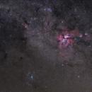 Great Carina Nebula and Surroundings,                                Fabiano B. Diniz
