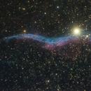 Veil nebula,                                Máximo Bustamante
