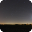Belgian Winter Sky and Moon,                                Astrolulu