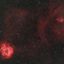 The Rosette & Cone Nebulae,                                Jared Holloway