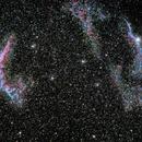 First light on Veil Nebula,                                Tsepo