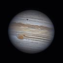 Jupiter and Europa Transit - 06/22/19 - 04:56 UTC,                                Jarrett Trezzo