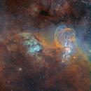 NGC 3576 & NGC 3603 - Statue of Liberty nebula,                                Jean-Baptiste Auroux