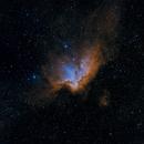 NGC 7380 (Wizard Nebula),                                André Bremer