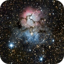Trifid Nebula 600D,                                Adam