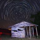 Star trail,                                Luis Amiama