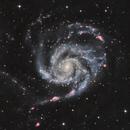 Pinwheel Galaxy (M 101) HaLRGB,                                Rick