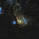 Cosmic Reef: NGC2014 & NGC2020,                                Jan Scheers