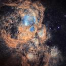 NGC6357 War and Peace Nebula(Lobster Nebula),                                johnnywang