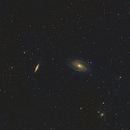 M81 Bodes M82 Cigar Galaxies,                                Stephen Eggleston