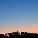 Conjunction Venus-Jupiter-Mercury,                                remidone