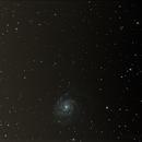 M101 et ses copines - vues par un débutant,                                PaskEyes