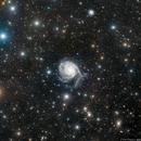 M101 - Pinwheel Galaxy,                                Richard Bratt