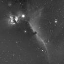 IC 434 Horse Head Nebula-Ha-Meade 80 ED triplet-Orion flattener-ASI 1600-MM-Pro,                                Adel Kildeev