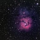 Trifit Nebula (Messier 20),                                Miles Zhou