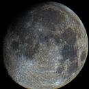Moon in Color - 20210225 - Evoguide ED50 at 425 mm (F8.5),                                altazastro