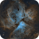 The Great Carinae Nebula - Narrow Band Composition,                                Eduardo Oliveira