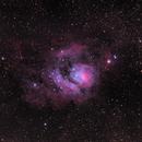 Messier 8- The Lagoon Nebula,                                Cody Knight