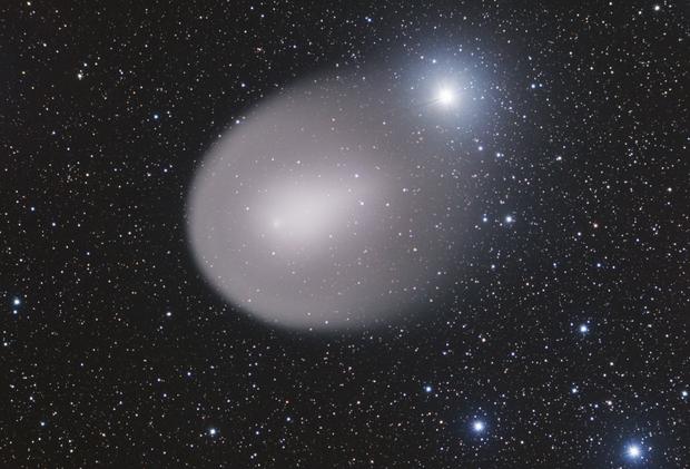 Cometa P17 Holmes in avvicinamento a Mirphak,                                Michele Bortolott...