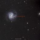 M61 and supernova 2020 JFO,                                John