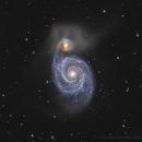 Whirlpool Galaxy,                                Bruce