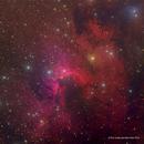 The Cave Nebula - SH2-155 - HORGB Image,                                Eric Coles (coles44)