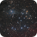 NGC 225 in Cassiopeia - the Sailboat Cluster,                                Steve Milne