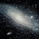 Andromeda Galaxy,                                Pedalstartmyheart