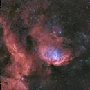 SH2-101 & Cygnus X-1 Shockfront as an HaRGB,                                pete_xl