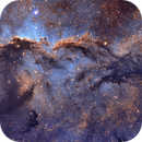 Fighting Dragons (NGC6188) in Hubble Palette,                                BO PENG(ISAAC)
