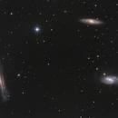 Leo Triplet M65 M66 NGC3628,                                Kevin Parker