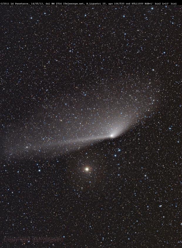comet C/2011 L4 Panstarr  from New Mexico,                                Rolando Ligustri