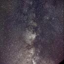 Southern Milky Way - September 2015,                                JD