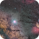 Mosaïque d'un partie de la voie lactée et de Rho Ophiuchus,                                ZlochTeamAstro