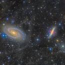 M81&M82 In IFN,                                astro_m
