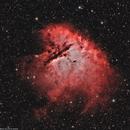 NGC281 Pacman nebula Ha_HOO,                                lukfer