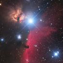 Alnitak and Horsehead Nebula,                                Ken-ichiro Tanaka