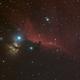 IC434 in HαRGB - 3x Drizzle Stacks,                                Uwe Deutermann