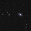 M81 - Bode's Galaxy and M82 - Cigar Galaxy,                                JetpackJason
