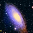 M31 The Great Nebula In Andromeda,                                JerryB Horseheads NY