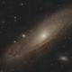 Andromeda Galaxy (M31) Four Panel Mosaic,                                Matt
