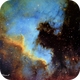 NGC 7000 North American Nebula in Narrowband (Redux),                                Francois Theriault