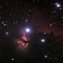 Flame Nebula,                                Paul Storey