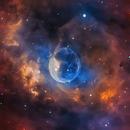 The Bubble Nebula - NGC 7635,                                Wissam Ayoub