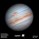 Jupiter - a close up view with a good resolution,                                MAILLARD