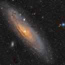 M31, WO Star 71, DSLR,                                Lensman57